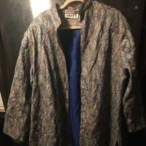 Anage Embroidered Jacket 194 $65 FIRM